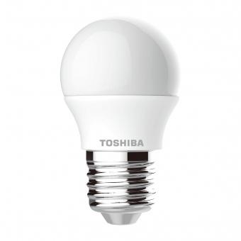 лед лампа 5w, e27, топла светлина, toshiba, 2700k, 470lm, 01301760178a