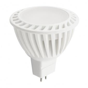 лед лампа, топла светлина, ultralux, 4w, gu5.3, 2700k, 320lm, l2s22016427