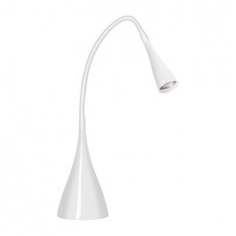 метална работна лампа, white, kanlux, clarisa, led 4.6w, 2700k-3200k, 250lm, 22361