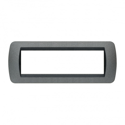 седеммодулна рамка, graphite, bticino, livinglight, l4807gf