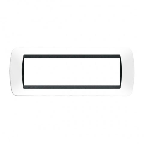 седеммодулна рамка, white, bticino, livinglight, l4807pb