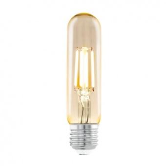 led лампа 4w, е27, топла светлина, eglo, filament, 2200k, 11554