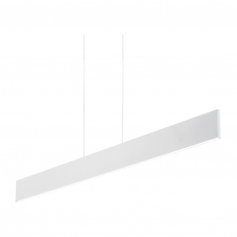 метален полилей, bianco, ideal lux, desk sp1, 1x23w led, 2100lm, 138237