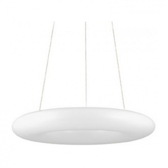 поликарбонатен пендел, bianco, ideal lux, polo sp220, 220x0.2w led, 3800lm, 140520