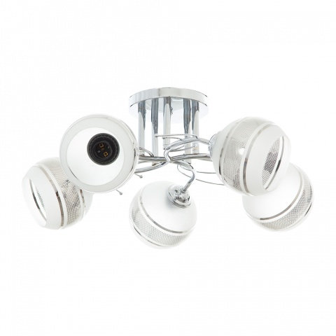 метален полилей, хром, elbulgaria, 5x40w, 911/5 ch