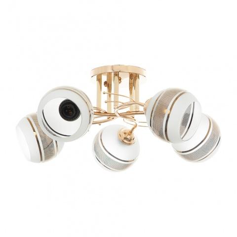 метален полилей, злато, elbulgaria, 5x40w, 911/5 gd