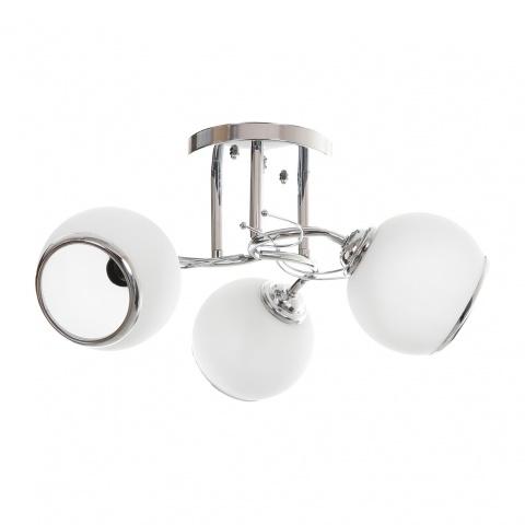 метален полилей, бял, elbulgaria, 3x40w, 798/3ch wh