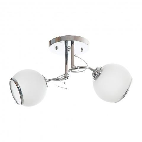 метален полилей, бял, elbulgaria, 2x40w, 798/2ch wh