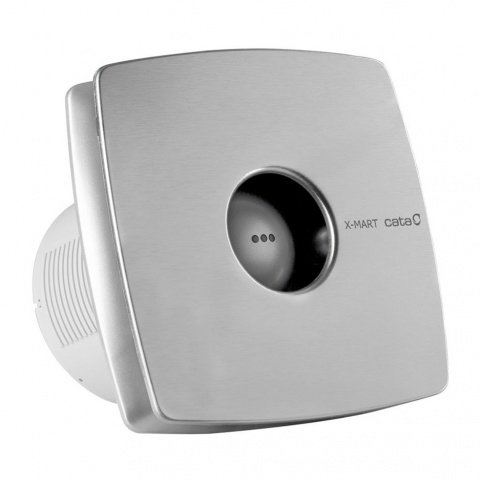 вентилатор за баня с клапа, инокс, cata, x-mart inox, ф150, 320 m3/h, 25w, x-mart inox15