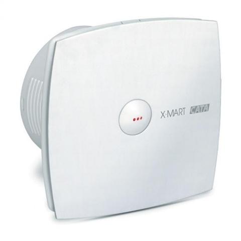 вентилатор за баня с автоматична клапа, бял, cata, x-mart matic, ф150, 320 m3/h, 25w, x-mart matic15