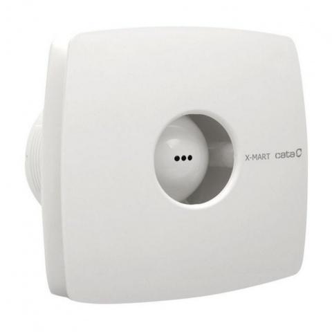 вентилатор за баня с клапа, бял, cata, x-mart, ф150, 320 m3/h, 25w, x-mart15s