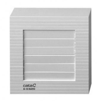 вентилатор за баня с клапа, бял, cata, b matic, ф100, 98 m3/h, 15w, b10 matic