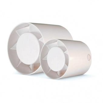 канален вентилатор за въздуховод, бял, cata, mt, ф125, 190 m3/h, 20w, mt125