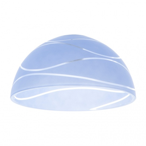 пенделно стъкло, син, elbulgaria, 1x40w, за фасунга е27, 106-a-5 su yolu wh-blue