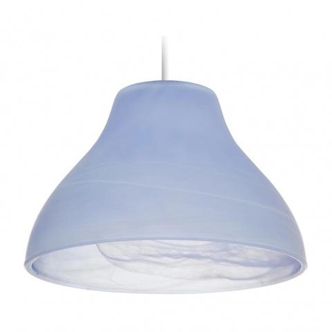пенделно стъкло, син, elbulgaria, 1x40w, за фасунга е27, 1039-a-1- alb al mat blu