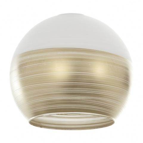 пенделно стъкло, злато, elbulgaria, 1x40w, за фасунга е27, 1910-c-fs-yn mat бяло/злато