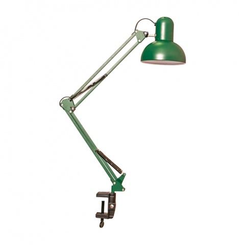 метална работна лампа, зелен, elbulgaria, 1x40w, 566 gr