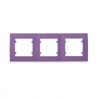 тройна рамка, лилава, makel, lillium natural kare, 32078703