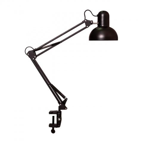 метална работна лампа, черен, elbulgaria, 1x40w, 566 bk
