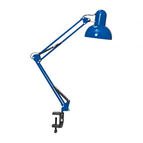 метална работна лампа, син, elbulgaria, 1x40w, 566 bl