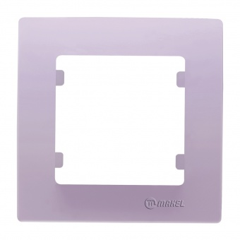 рамка единична, светло лилава, makel, lillium natural kare, 32095701