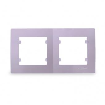 рамка двойна, светло лилава, makel, lillium natural kare, 32095702