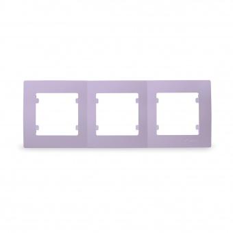 тройна рамка, makel, светло лилава, lillium natural kare, 32095703