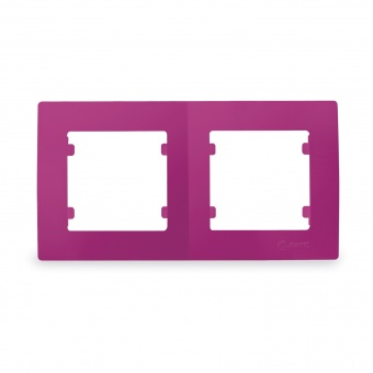 рамка двойна, цикламено розова, makel,  lillium natural kare, 32085702