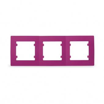 тройна рамка, makel, цикламено розова, lillium natural kare, 32085703