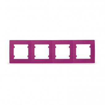четворна рамка, цикламено розова, makel, lillium natural kare, 32085704