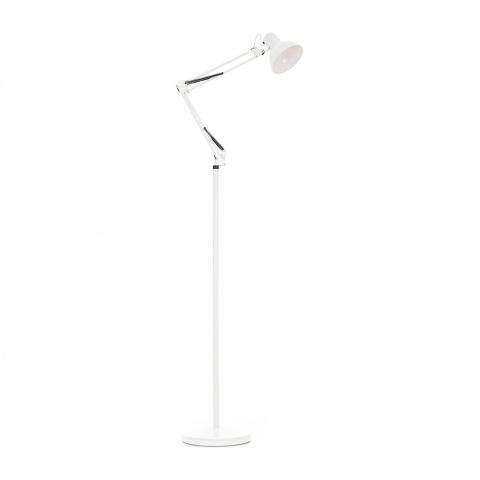 метален лампион, бял, elbulgaria, 1x40w, 1004a wh