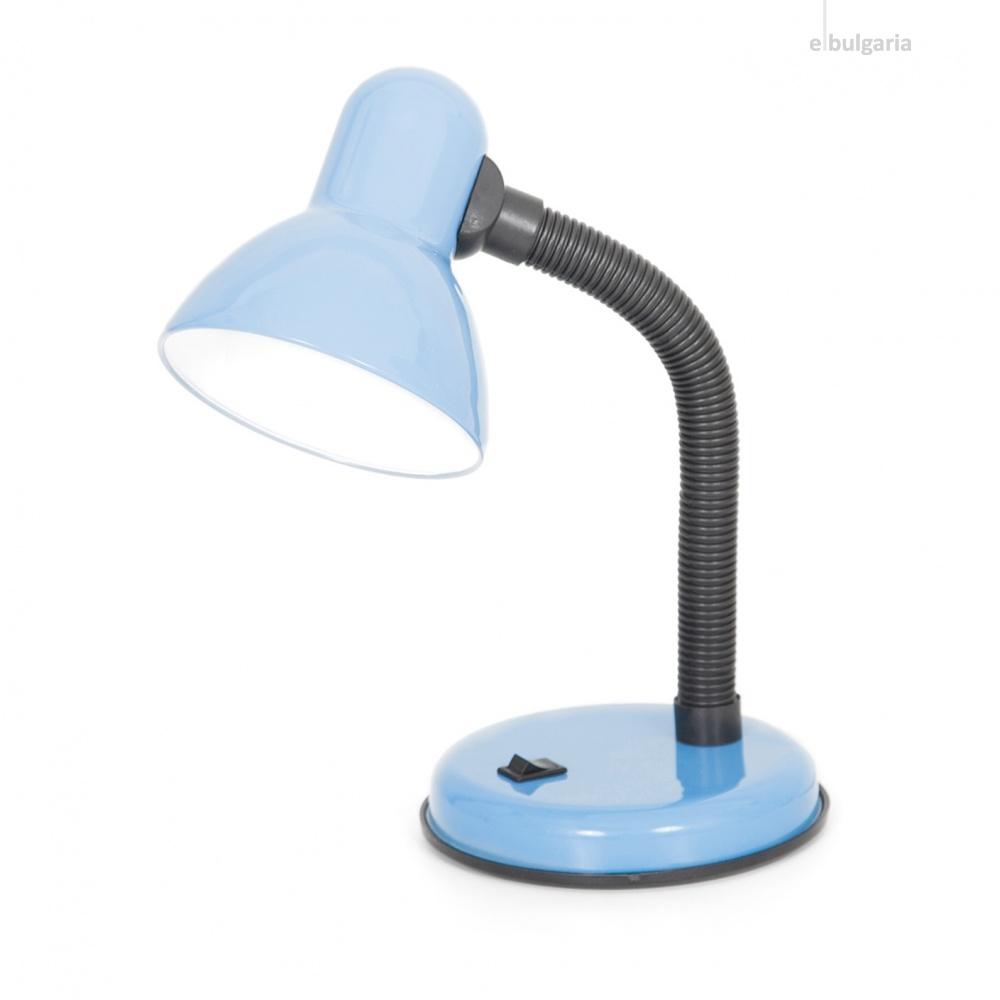 метална работна лампа, син, elbulgaria, 1x40w, 564 bl