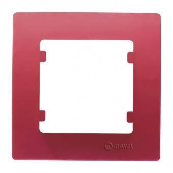 рамка единична, розова, makel, lillium natural kare, 32093701