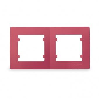 рамка двойна, розова, makel, lillium natural kare, 32093702