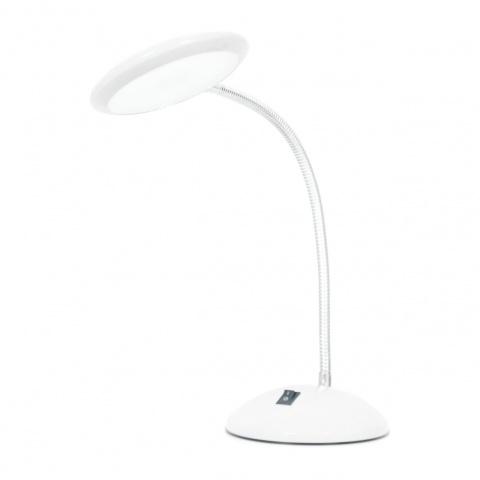 метална работна лампа, бял, elbulgaria, led 1x5w, 5000k, 943 wh