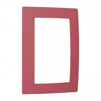 рамка за двоен контакт, розова, makel, lillium natural kare, 32093710