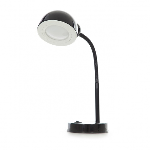 метална работна лампа, черен, elbulgaria, led 3w, 4500k, 1002b bk