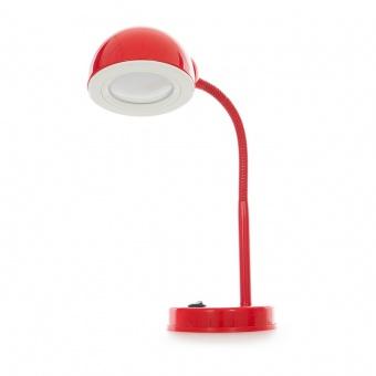 метална работна лампа, червен, elbulgaria, led 3w, 4500k, 1002c red