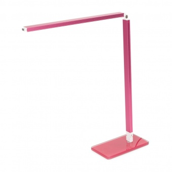 метална работна лампа, розов, elbulgaria, led 1x4w, 5000k, 944 pk