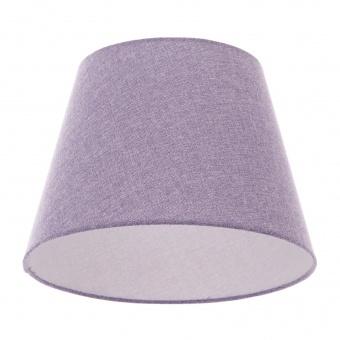 текстилен абажур, светло лилав, elbulgaria, 1x40w, за фасунга е27, 736 za50
