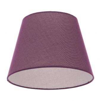 текстилен абажур, тъмно лилав, elbulgaria, 1x40w, за фасунга е27, 736 za53