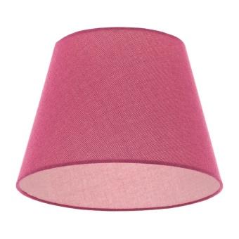 текстилен абажур, розов, elbulgaria, 1x40w, за фасунга е27, 736 za55