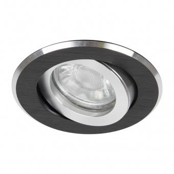 алуминиева  луна, черен, elbulgaria, 1x40w, 702 bk