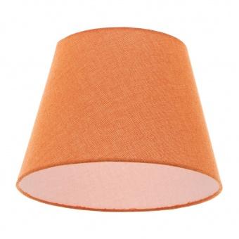 текстилен абажур, оранжев, elbulgaria, 1x40w, за фасунга е27, 736 za59