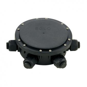 разпределителна кутия, външен монтаж, black, eglo, connector box, 91207