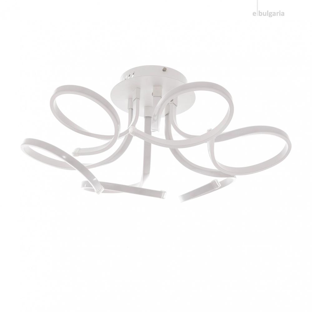 алуминиев полилей, бял, elbulgaria, led 6x5w, 6000K,1352/60