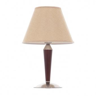 метална настолна лампа, мат хром, elbulgaria, 1x40w, 1417/1t