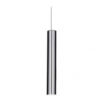 метален пендел, cromo, ideal lux, look sp1 small , 1x28w, 2700k, 104942