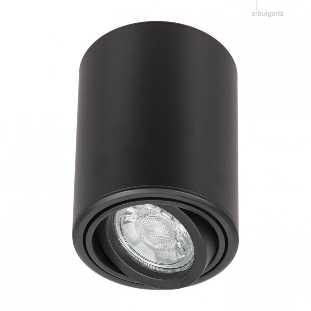 алуминиева луна, черна, elbulgaria, 1x40w, 1407 bk