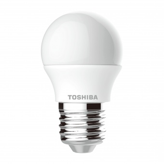 led лампа 5w, e27, бяла светлина, toshiba, 4000k, 470lm, 01301760347a